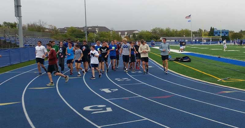 Lake Zurich Cross Country Warm Up