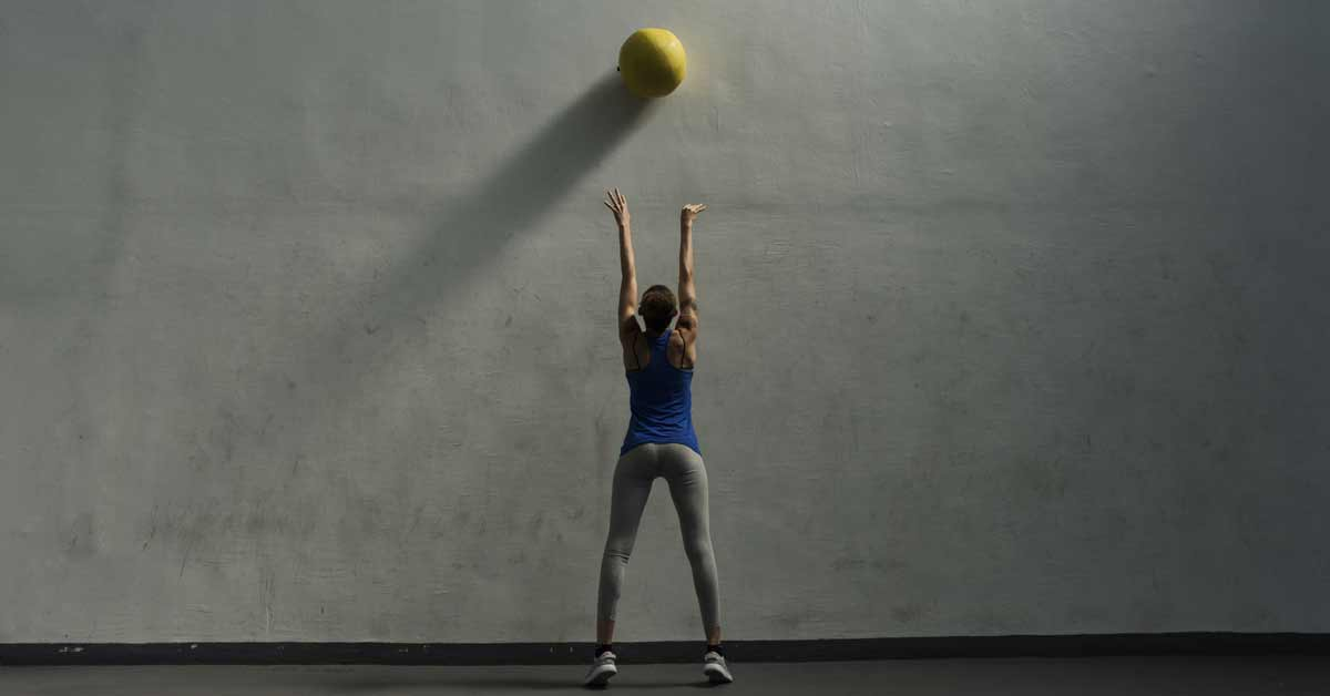 Circuit Training Medicine Ball