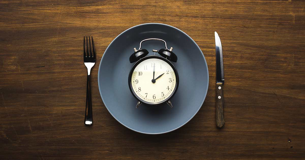 Dinner Plate and Alarm Clock