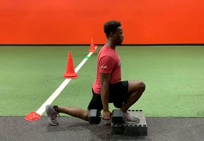 Loaded Lunge